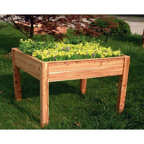 Tierra Garden Raised Planter Box   4427   2.5 X 2.5 Ft. | From Hayneedle