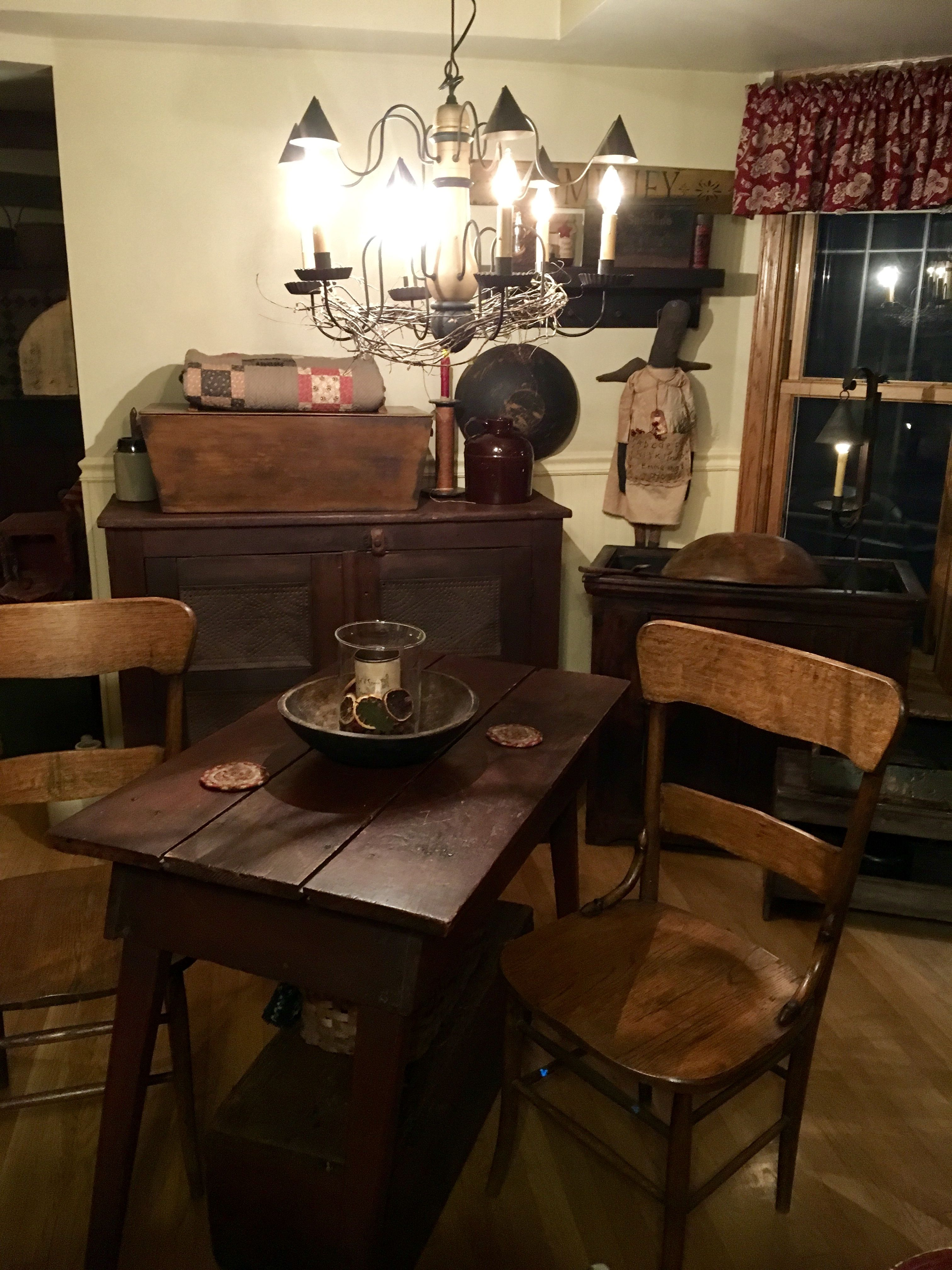 Decorating With Antiques Decorating With Primitives In