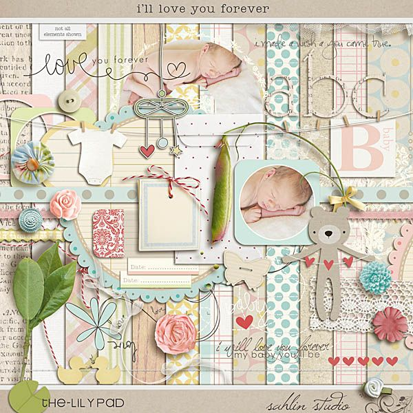 Ill Love You Forever By Sahlin Studio Baby Book Pinterest