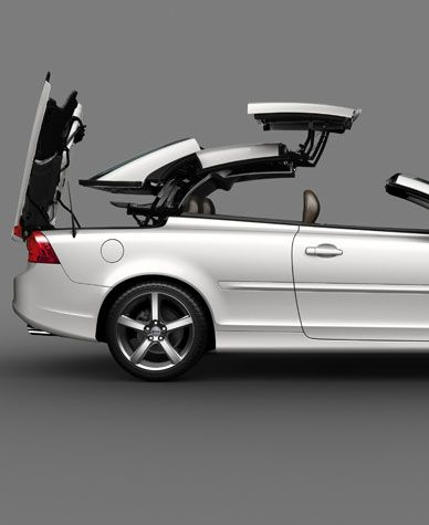 C70 Convertible Volvo C70 Coupe Hardtop Convertible Clearly
