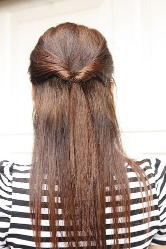 Quick Everyday Half Do Me Hair Styles Hair Easy Hairstyles