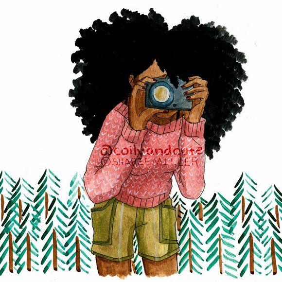 Natural Hair Cartoon Pictures Natural Hair Illustration Displaying 15 Gallery Images For Natural Afro Art Natural Hair Art Black Women Art
