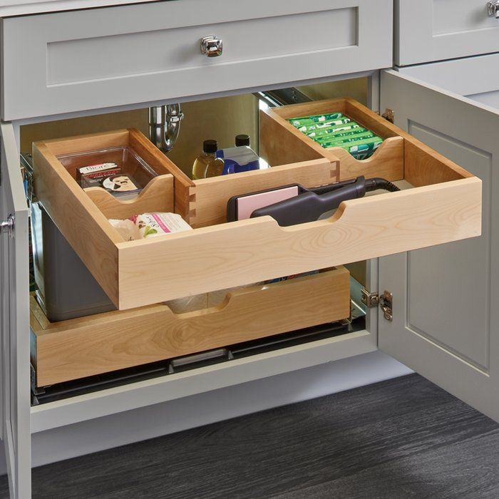 Rev-A-Shelf Under Sink Pull Out Drawer | Wayfair | Kitchen ...