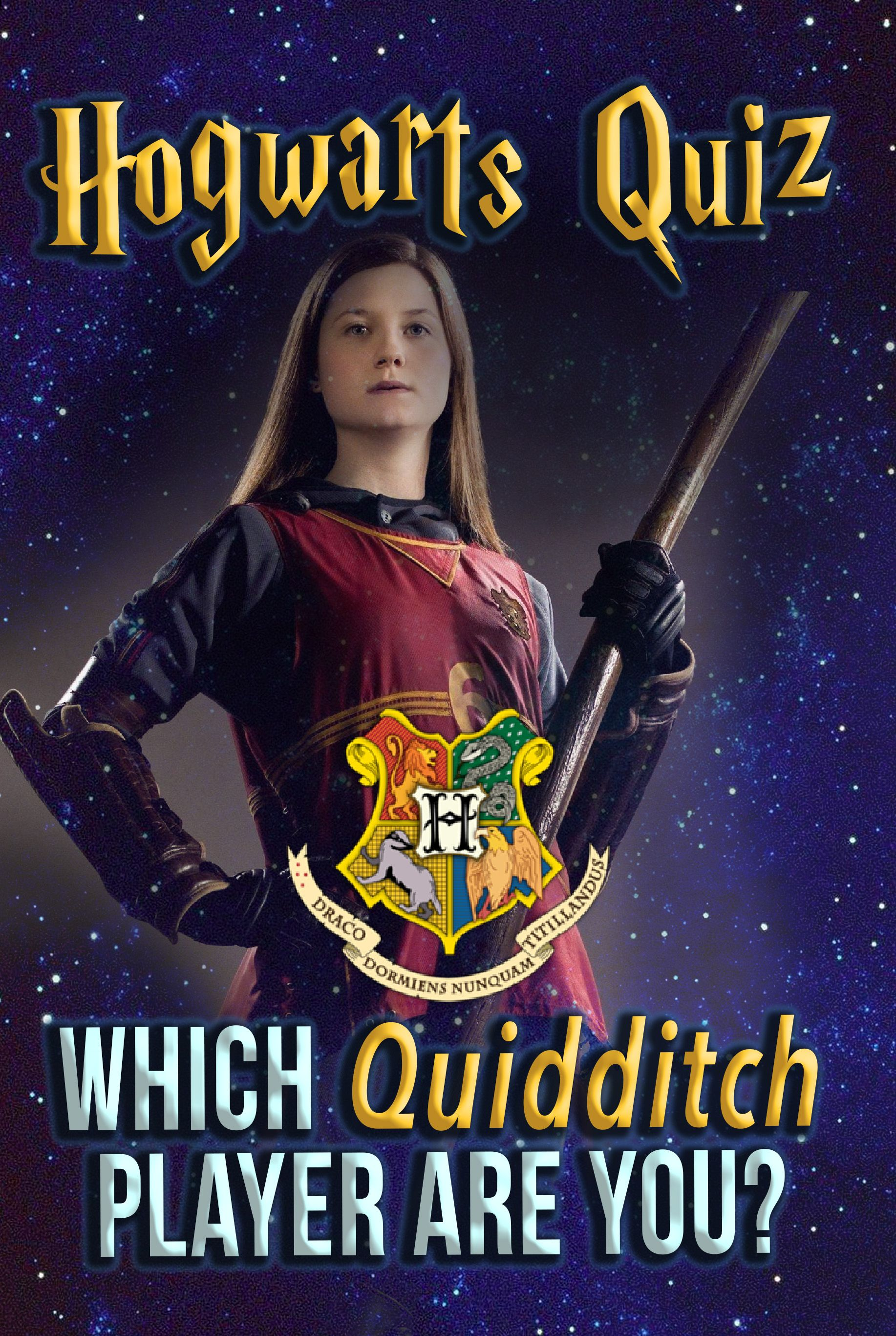 Hogwarts Quiz Which Quidditch Player Are You? Harry