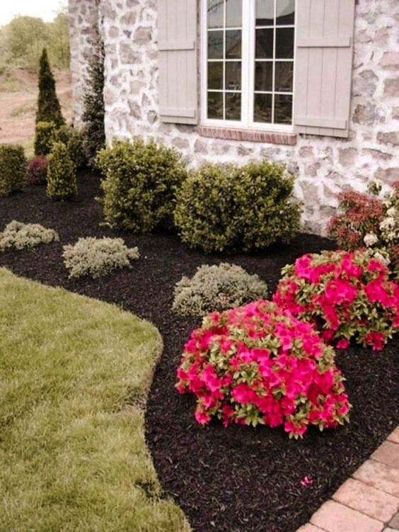 Photo of 47 Flower beds in front of house ideas- 2020