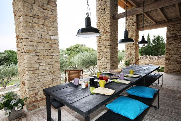 pool house Maison En Provence Pinterest