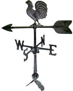 NEW Montague Metal Products 24 Inch Weathervane with Horse Ornament SHIPS FREE