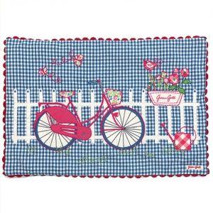 Cushion Bicycle Print