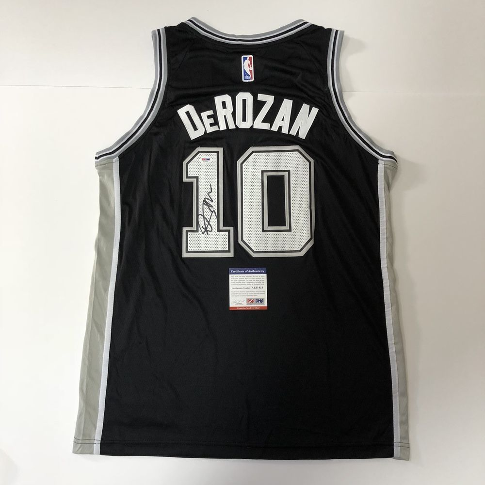 070da4bb3 DeMar DeRozan signed jersey PSA DNA San Antonio Spurs autographed NBA  Basketball (eBay Link)