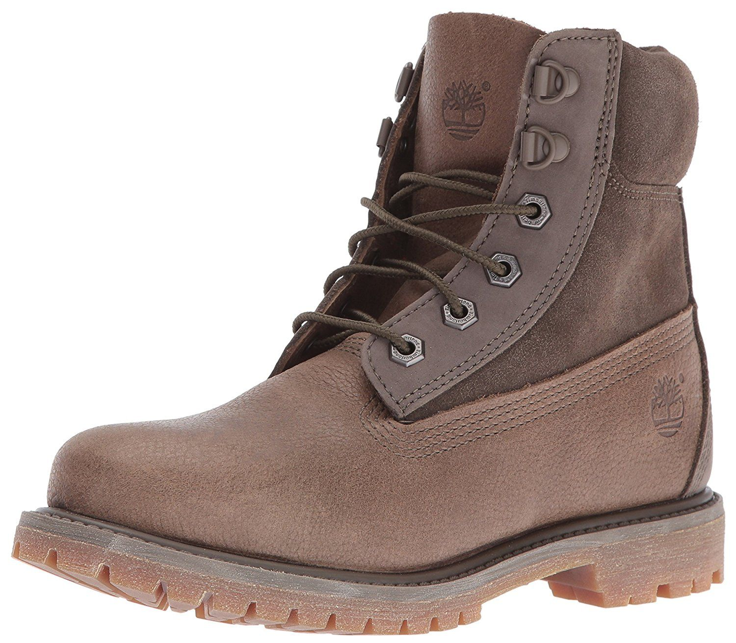 Timberland Women's 6 Inch Premium Double D-Ring WP Boot -- You can find out more details at the link of the image.