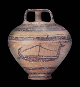 Stirrup Jar From Skyros Late Helladic Iiic Period 12th Century