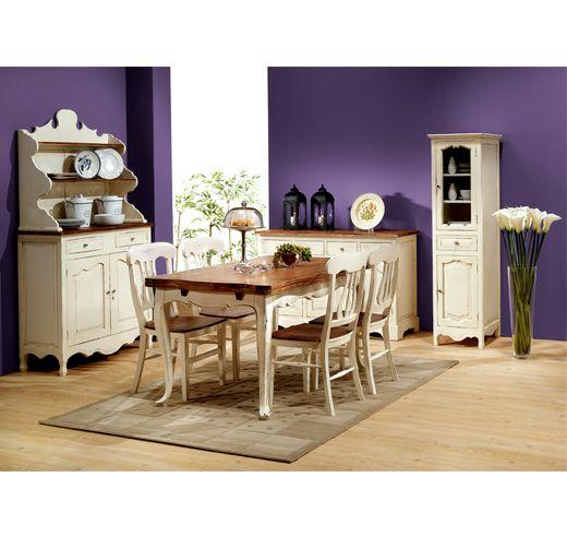 Armario Herramientas Ikea ~ Ambiente de comedor Aviñón con vajillero, aparador, vitrina, mesa rectangular extensible y