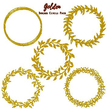 Moldura Png Images Vetores E Arquivos Psd Download Gratis Em Pngtree Circle Clipart Gold Circle Frames Gold Clipart