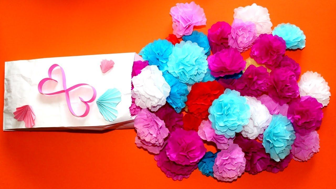 How to make small tissue paper flower simple tutorial for how to how to make small tissue paper flower simple tutorial for how to make mightylinksfo