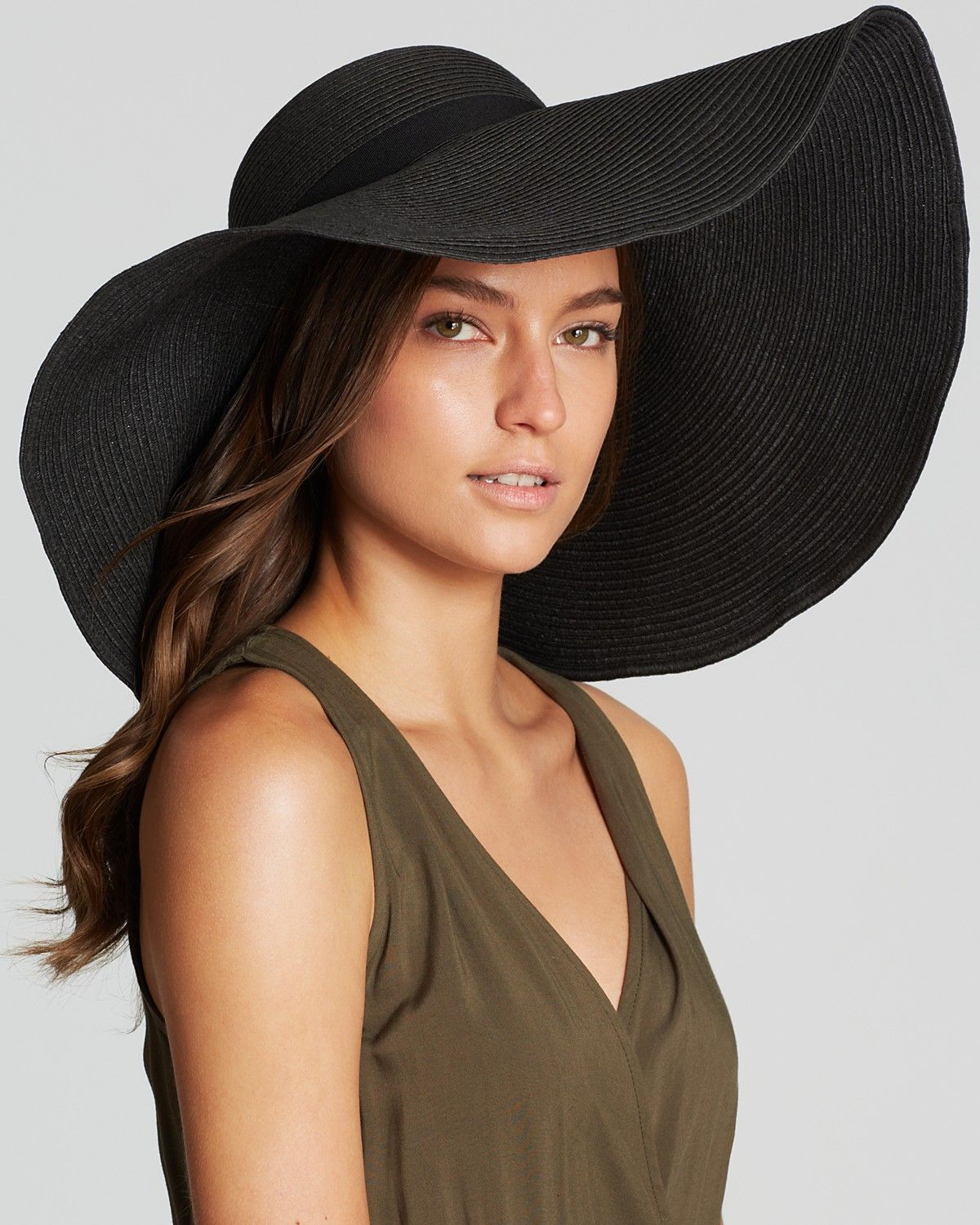 64f9b62f August Accessories Oversized Floppy Hat | Bloomingdale's | Beanies ...