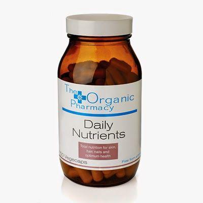 MrsD-Daily: The Organic Pharmacy Supplements