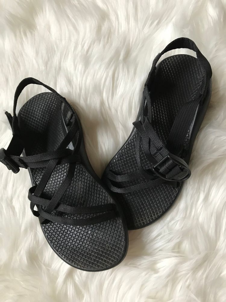 2d4f97bdb65a Chaco Size 7 Black ZX   1 Classic Multi Strap Vibram Sole Hiking Sport  Sandals  Chaco  HikingSandals  Casual