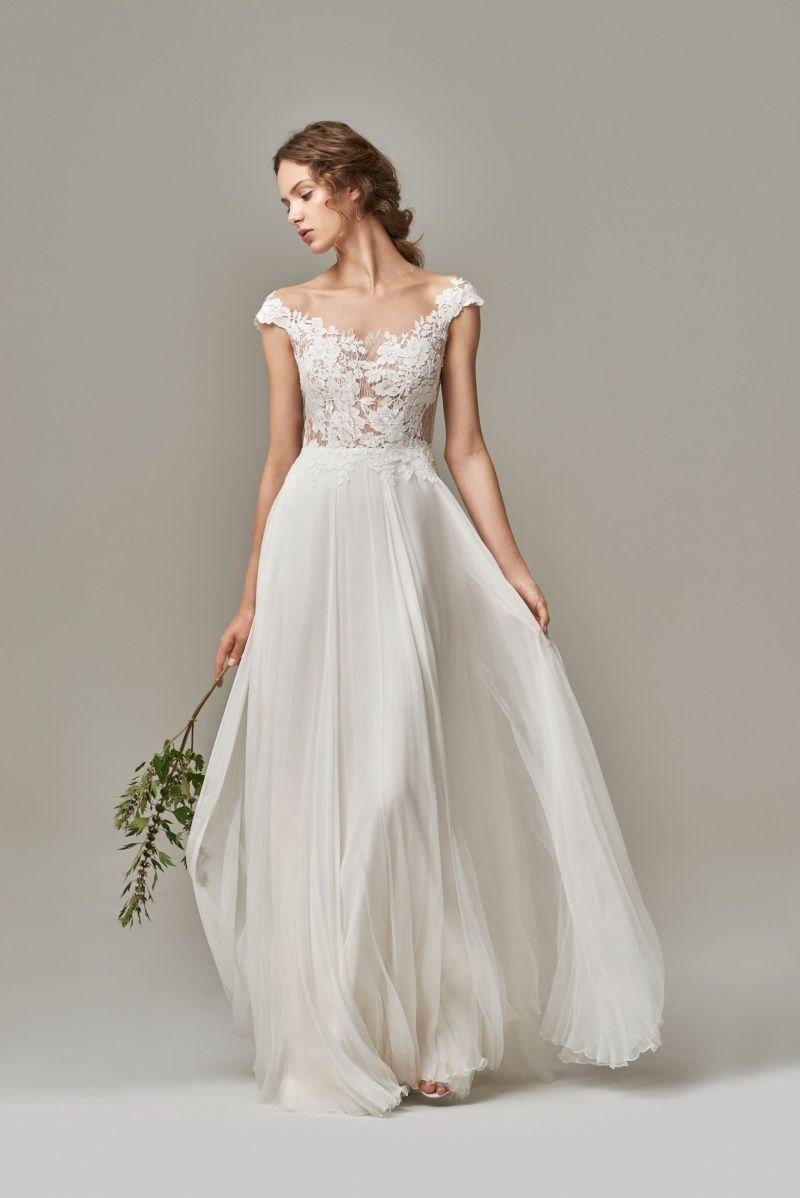 Gail Suknie Slubne Anna Kara Elegant Bridal Gown Elegant Wedding Dress Bridal Wear