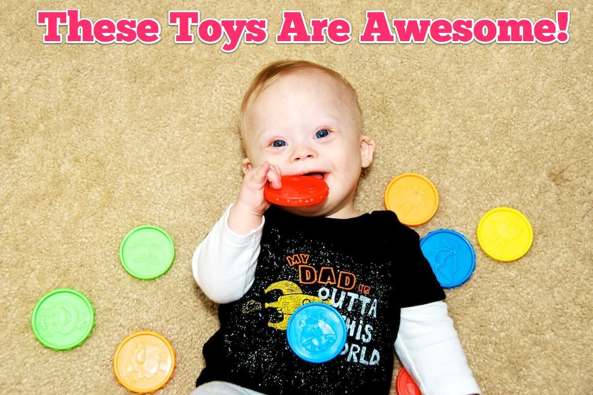 Check out this post on 7 AwesomeLearning Toys To Help Your Baby Develop! Be sure to leave a comment with your child's favorite learning toy's! :-)