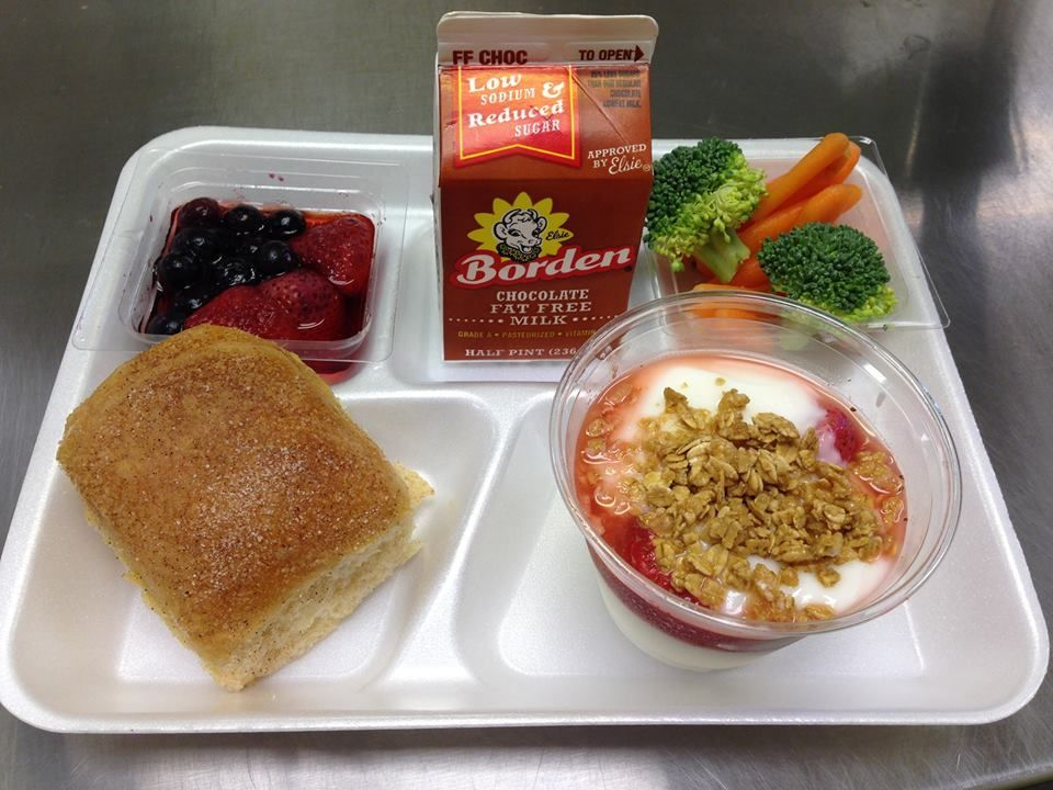 Today S Tray Of The Day Comes From Riojas Elementary School