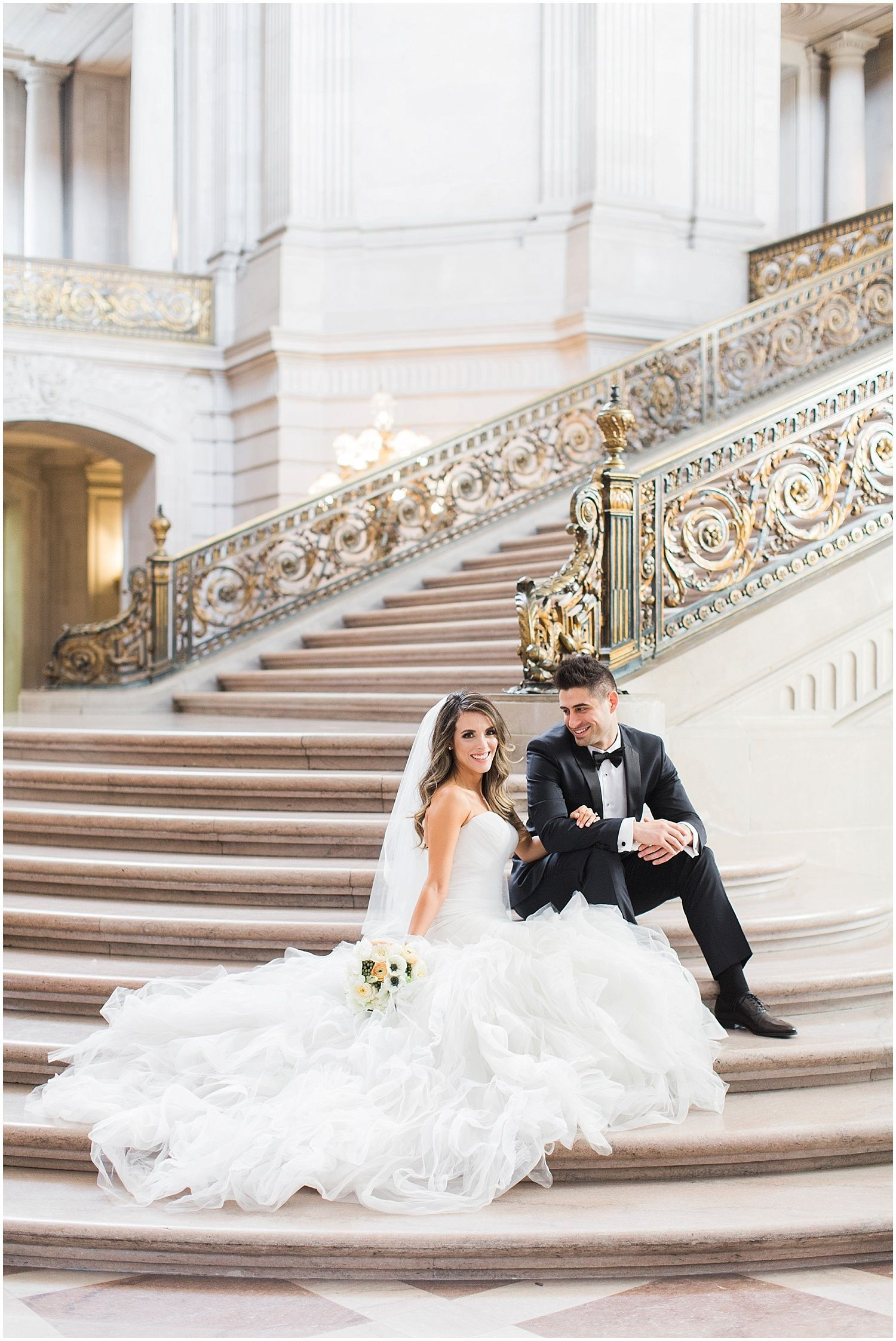 San Francisco City Hall Wedding Photography Jessica Sam Blueberry Napa Sonoma