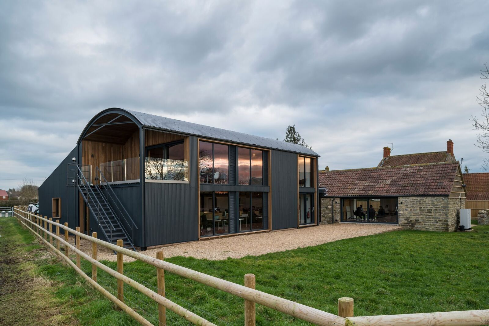 Mill Farm Barns - our new offices in Somerset  A