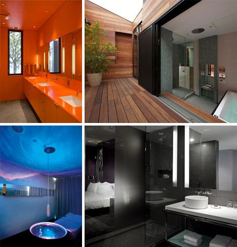 Bold bathroom ideas pictures of 7 luxury modern designs