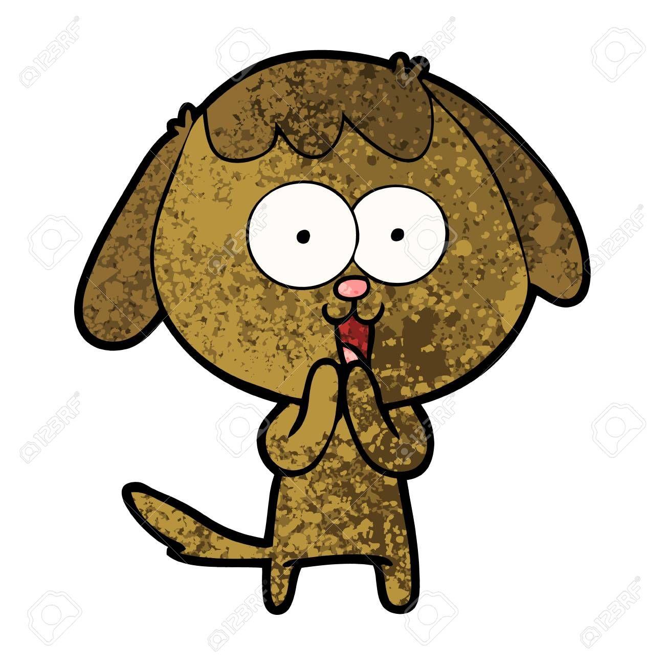 Cute Cartoon Dog Illustration Spon Cartoon Cute Illustration Dog Aesthetic Backgrounds Dog Illustration Cartoon Dog