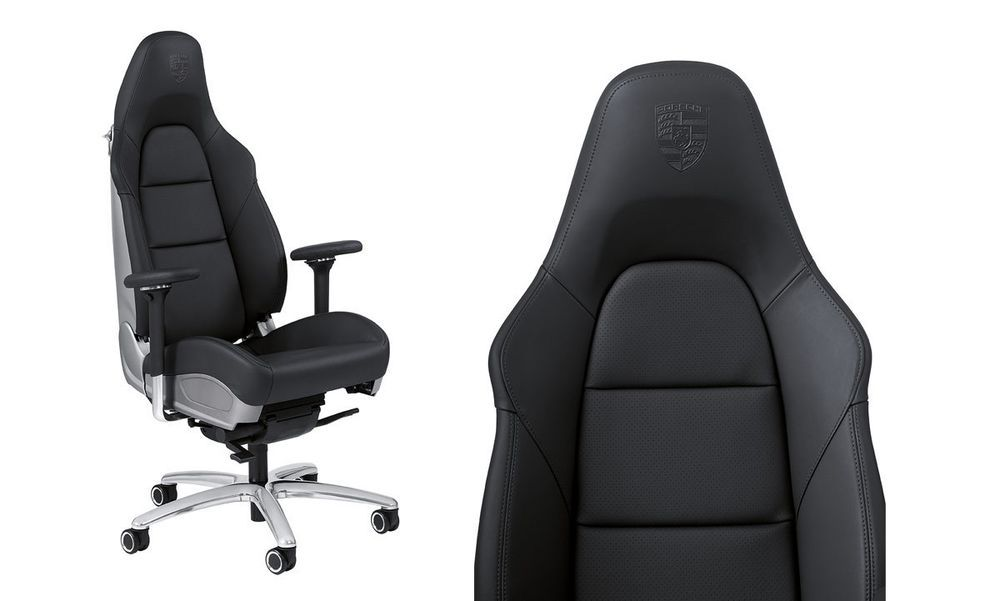 Details about Genuine Porsche 911 Office Chair Real Porsche 911 Seat Chair  WAP0500080E