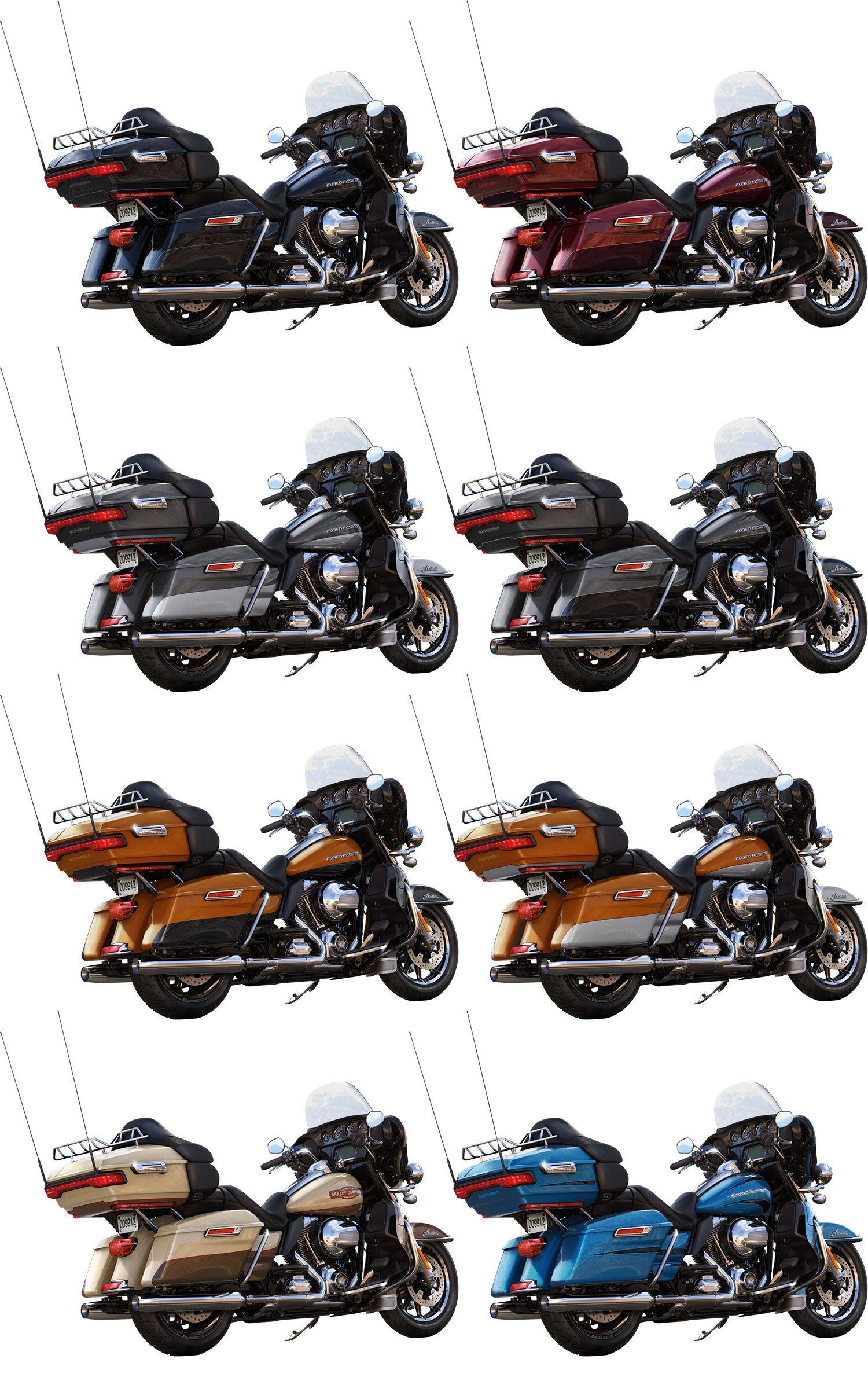 e965c48f Harley-Davidson 2014 Ultra Limited Colors | Harley Davidson | 2014 ...