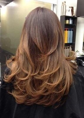 Short Layers Makes A Big Difference When You Have Long Hair Adds