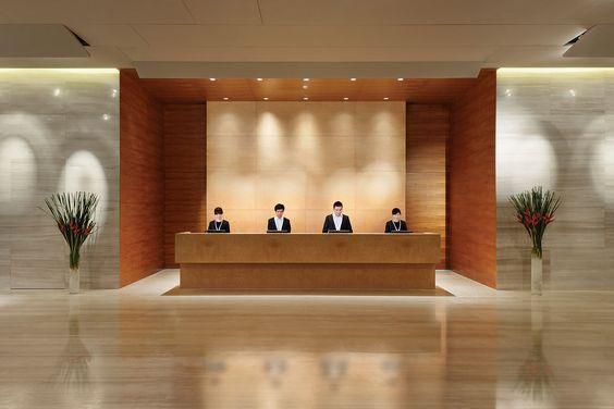 Superbe Front Desk. Front Desk Modern Hotel Lobby ...