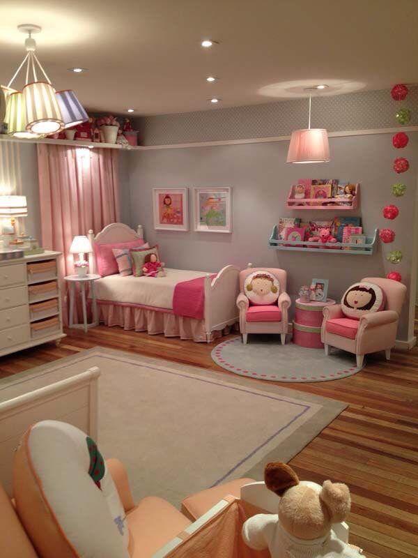 Recamara de ni a decoraci n habitaciones pinterest for Decoracion cuarto nina