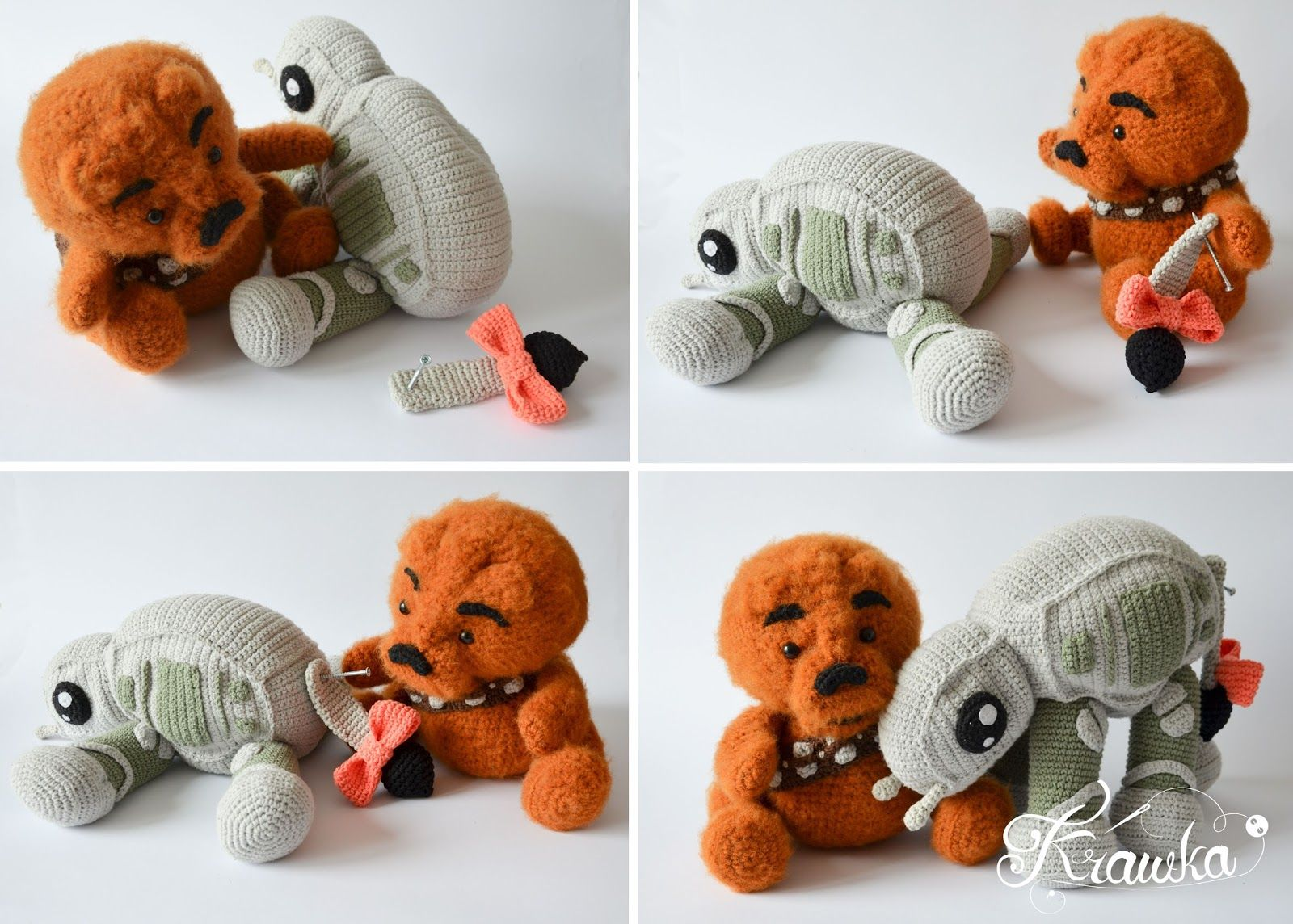 Krawka: Winnie the Pooh and Chewbacca mashed up in one character ...