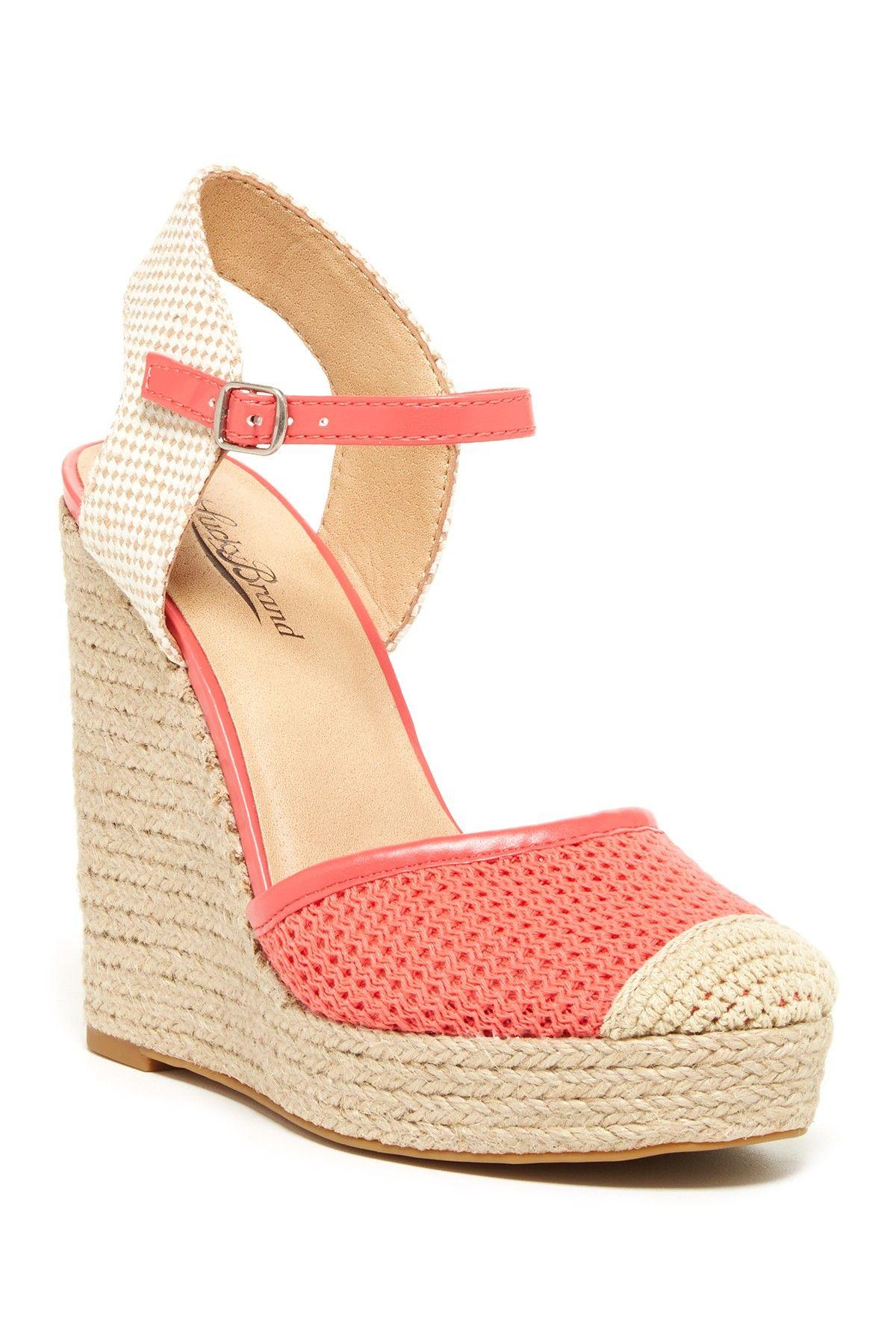 d96096f1f28 Reandra Wedge Sandal on HauteLook