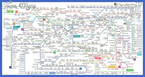 Seoul Subway Map 2015.Awesome Seoul Map Tourist Attractions Tours Maps In 2019 Seoul