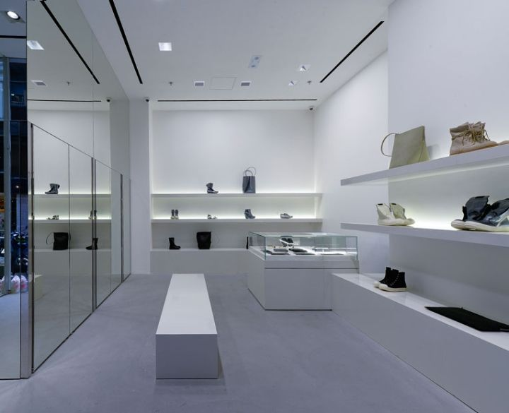 Rick Owens Store Hong Kong Retail Design Blog