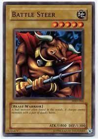 Yu-Gi-Oh! - Battle Steer (MRD-064) - Metal Raiders - 1st Edition - Common