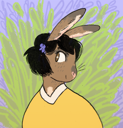 solomonfletcher:  Icon commission for madeleineishere!!! ~~commission info~~  It's ME IM A BUNNY
