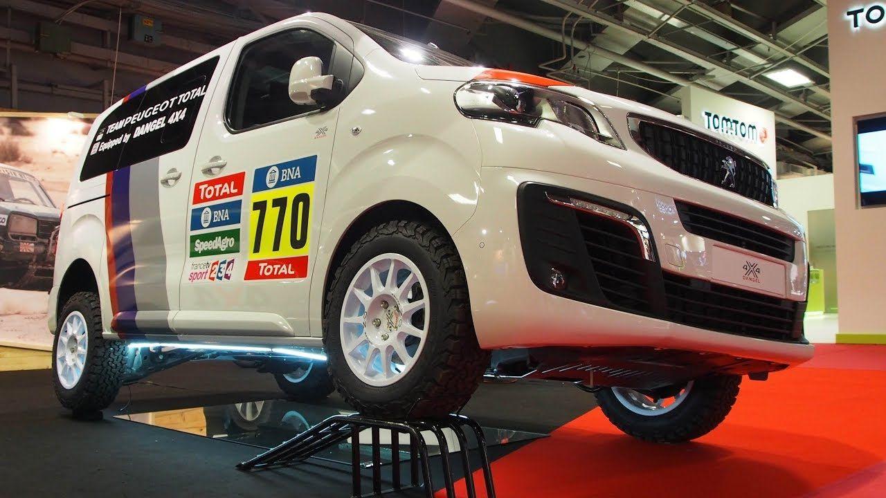 Peugeot Traveller 4x4 Dangel Exterior Lookaround Peugeot 4x4 Travel