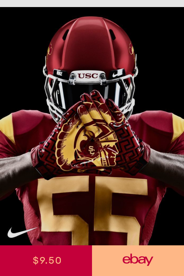 Usc Trojans Football Photo Quality Poster Choose A Size A Trojans Football Usc Trojans Football Usc Football