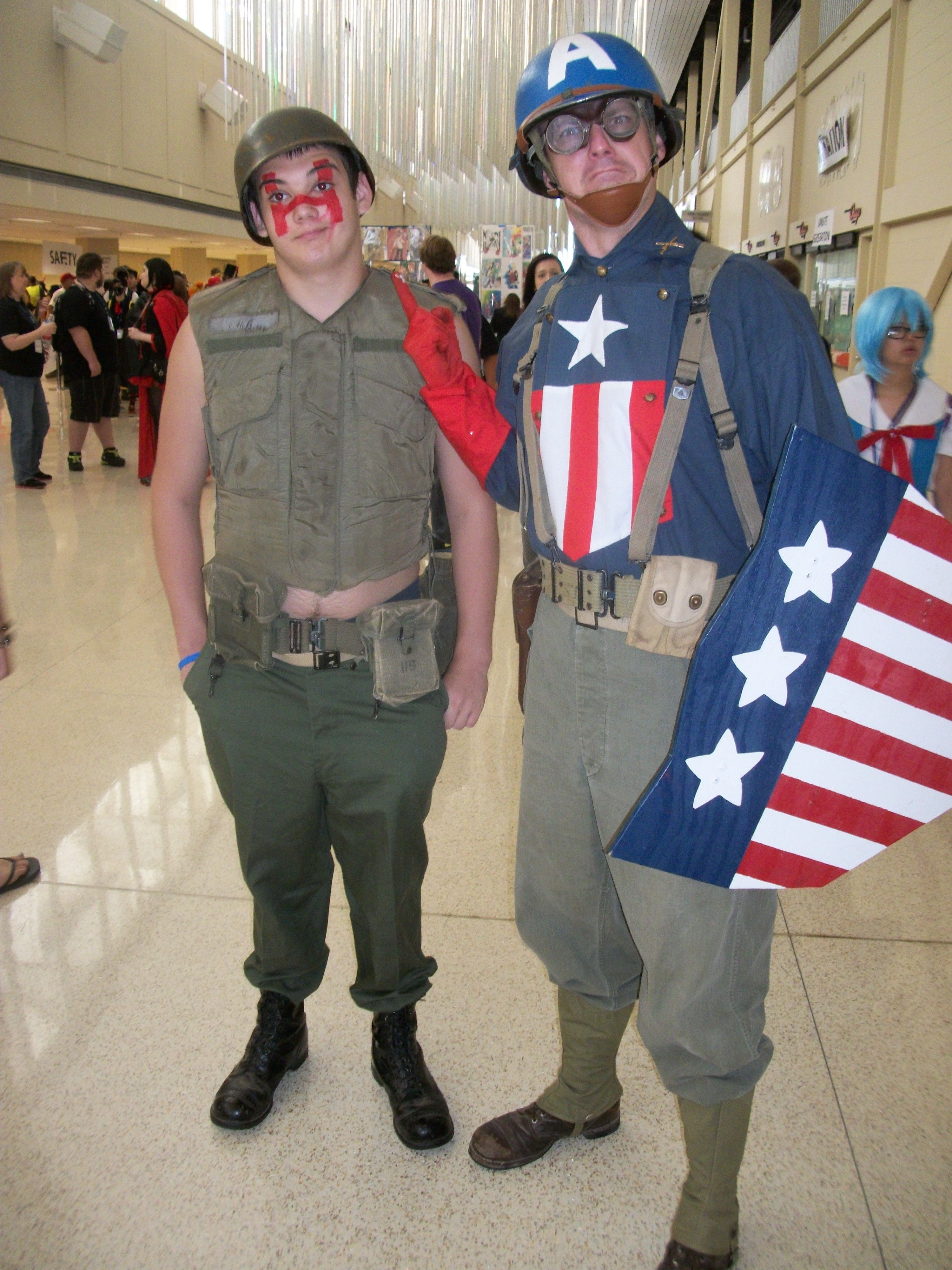 Captain America and Sergeant Hatred, Tokyo in Tulsa, 2013 ...
