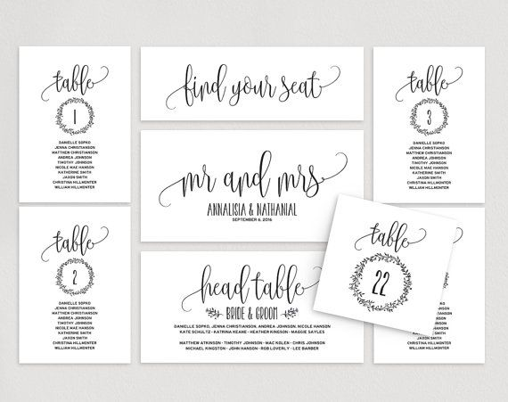 This Listing Includes  High Resolution Pdf Wedding Seating Chart