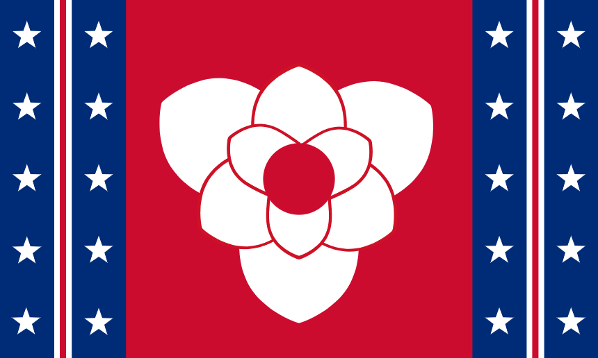 Since The State Flag Issue Is Coming Back Around I Guess Now S As Good A Time As Any To Share My Design The New Magnolia In 2020 State Flags Mississippi Flag Flag