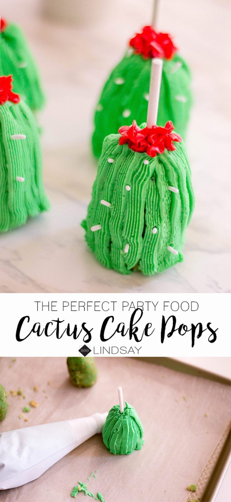 Cactus Cake Pops Recipe For A Perfect Party Recipe Cactus Cake Cake Pops Cake Pop Recipe