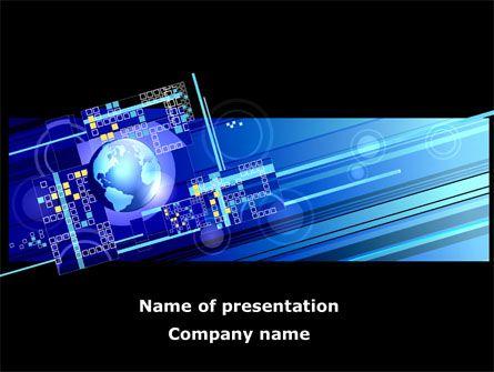 http://www.pptstar/powerpoint/template/high-tech-planet/ high, Presentation templates