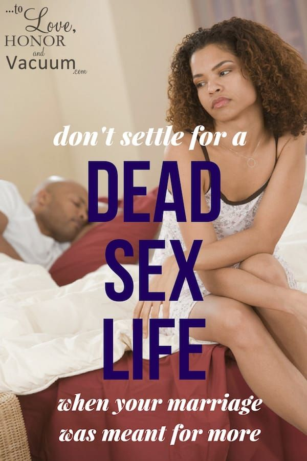 Not happy with sex life