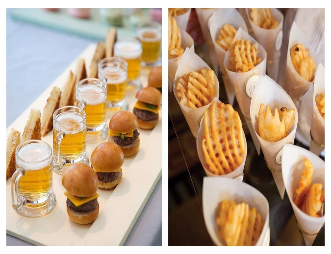 wedding food ideas | wedding-food-trends-ideas-waffle-fries-mini ...