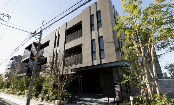 The Park House小日向 ザ パークハウスコヒナタ 東京都心の高級マンション タワーマンションの賃貸 売買ならrenosy 旧 モダンスタンダード 建物の外観 ファサード デザイン マンション