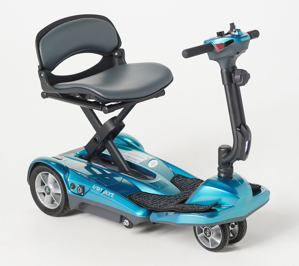 Ev Rider Auto Fold Plus 4 Wheel Mobility Scooter Qvc Com
